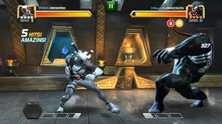 getlinkyoutube.com-Marvel Contest of Champions - Arena + Collecting Tier 4 Basic Catalyst