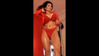 Denise Milani  hot body video