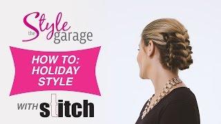 getlinkyoutube.com-How To: Triple French Braid   Holiday Style with STITCH by Daniel Roldan