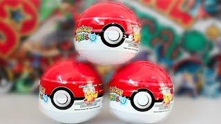 getlinkyoutube.com-Opening 3 Pokemon Rumble U Surprise Pokeballs!!
