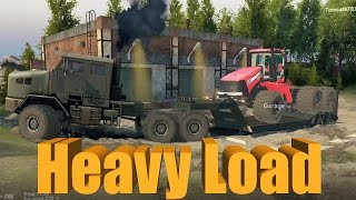 getlinkyoutube.com-Spin Tires HEAVY LOAD Challenge