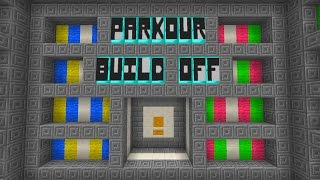 getlinkyoutube.com-Minecraft Parkour Build Off Minigame