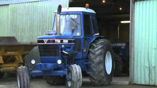 TASTER VIDEO: Custom Ford 7700 with V8 combine engine