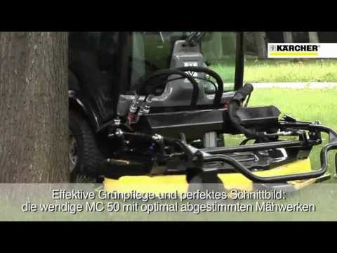 Karcher MC 50 Wielofunkcyjna zamiatarka miejska (koszenie trawników, odśnieżanie)