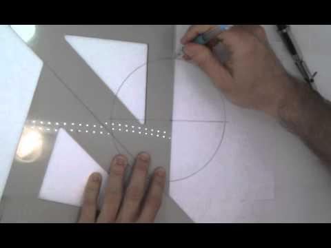 Como dibujar un pentagono regular mejorado