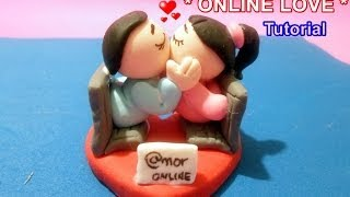 getlinkyoutube.com-MANUALIDADES FACILES AMOR Y AMISTAD/ Love cold porcelain charms