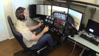 getlinkyoutube.com-X-Plane Simulator with TrackIR and Saitek Cessna Pro Flight Controls