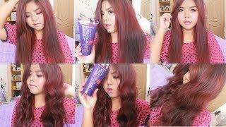 getlinkyoutube.com-How to แว๊กซ์เปลี่ยนสีผมด้วย DIPSO Super Shine Hair Color Wax