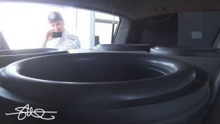 "getlinkyoutube.com-WOOFER PORN 30,000 Watt Car Sound System BASS DEMO 4 18"" Subwoofers"