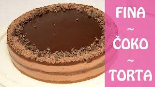 getlinkyoutube.com-Čokoladna čoko torta  | Natašine slastice
