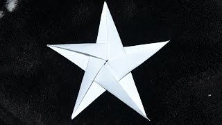 getlinkyoutube.com-Origami: 5 Pointed Star / Estrela de 5 pontas