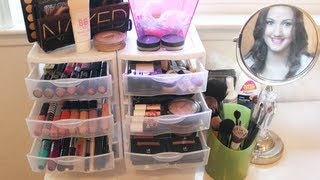 getlinkyoutube.com-My Makeup Collection + Storage! ♡