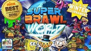 getlinkyoutube.com-Super Brawl World - Sky Whale & Kid Danger Tag Team (Nickelodeon Games)