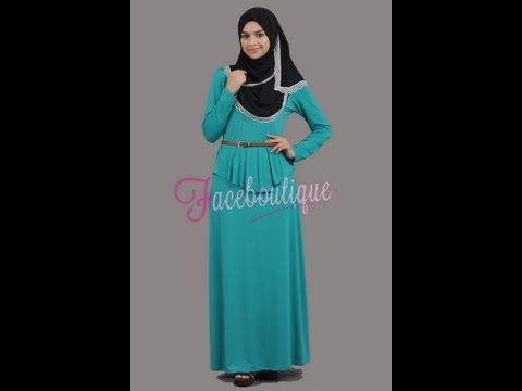 Koleksi 1 Dress/Jubah Peplum