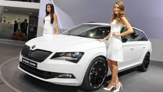 getlinkyoutube.com-IAA 2015: Jetzt wird's sportlich - Der Škoda Superb Combi