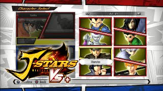 getlinkyoutube.com-J-Stars Victory VS+ All Characters (Playable & Support) and Stages [ENGLISH]