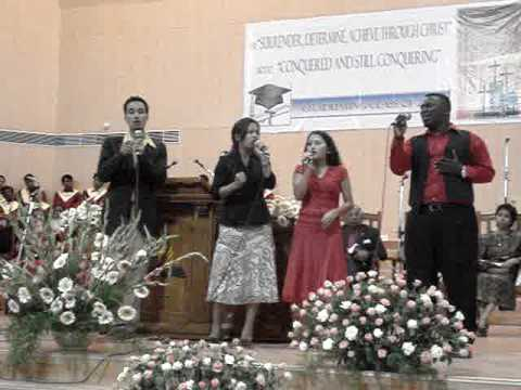 Mimi Chhakchhuak and the group sining at Spicer College Church by Sunil Sarkar