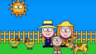 getlinkyoutube.com-Gracie Lou - The farmers in the dell