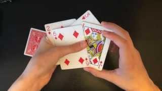 getlinkyoutube.com-Super Cool Biddle Trick Intermediate Card Trick Revealed