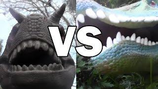 getlinkyoutube.com-Dino Duels Ep. 2:  Spinosaurus vs Carnotaurus