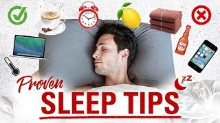 Proven Sleep Tips | How to Fall Asleep Faster | Doctor Mike width=
