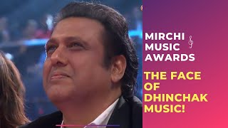 getlinkyoutube.com-The Face Of Dhinchak Music, Govinda At Royal Stag Mirchi Music Awards!