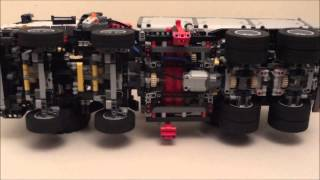 getlinkyoutube.com-Lego Technic 42043 Mercedes-Benz Arocs 3245 Part 2