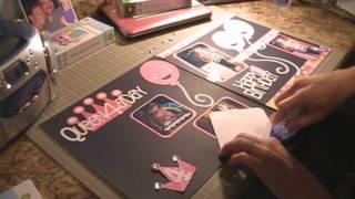getlinkyoutube.com-Happy Birthday Scrapbook Layout, Episode 16