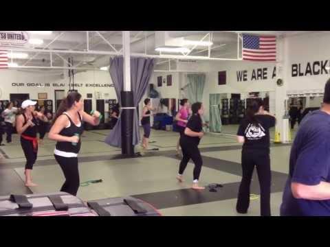Port Jefferson kickboxing Light Weight Bootkamp