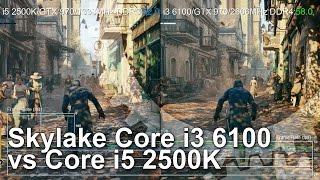 getlinkyoutube.com-Core i3 6100 vs Core i5 2500K Gameplay Comparison
