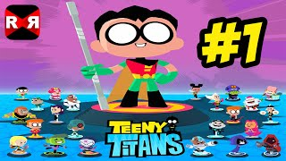 getlinkyoutube.com-Teeny Titans (by Cartoon Network) - iOS / Android - Walkthrough Gameplay Part 1