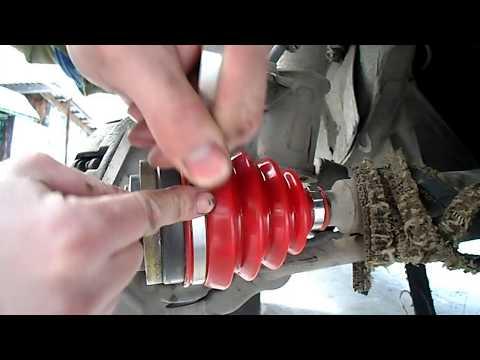 Установка хомута пыльника ШРУСа (ГРАНАТЫ). Быстрый и лёгкий способ одеть хомут на пыльник шруса ВАЗ