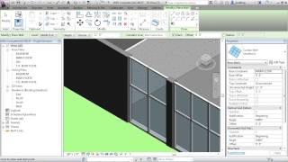 getlinkyoutube.com-Revit Architecture 2013 Tutorial | Curtain Walls