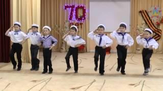"""getlinkyoutube.com-Детский сад №1""""Соловушка"""", г.Павловский Посад. Танец """"Яблочко"""""""