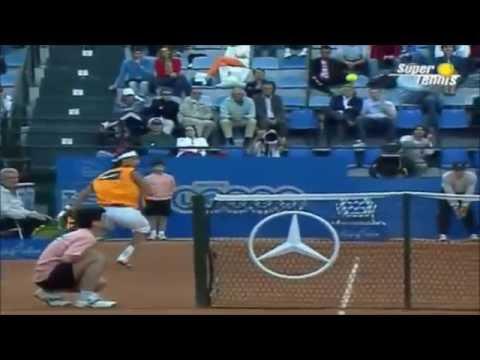 ATP Rome 2005 Quarterfinals: Nadal`s hot shot