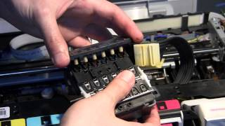 getlinkyoutube.com-HP Photosmart C5180 - Disassembly & Head Cleaning