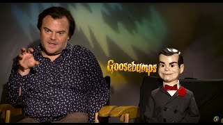 getlinkyoutube.com-Sit Down with the Stars: Jack Black and Slappy The Dummy Get Real with GOOSEBUMPS - Regal Cinemas