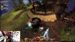 getlinkyoutube.com-Guild Wars 2 WvW Warrior Roaming Killshot
