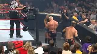 getlinkyoutube.com-WWE Unforgiven 2003 - Test (with Stacy Keibler) vs Scott Steiner