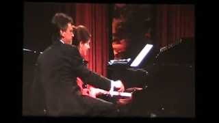 "getlinkyoutube.com-Kim Collingsworth and Jeff Stice - Piano Duet ""Somewhere Over the Rainbow"""