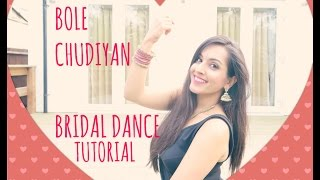 getlinkyoutube.com-BOLE CHUDIYAN| DANCE TUTORIAL|EASY BOLLYWOOD INDIAN WEDDING DANCE STEPS