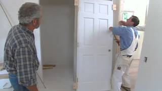 getlinkyoutube.com-How to Install Interior Door - Modern Colonial - Bob Vila eps.2511