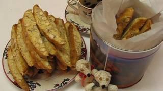 getlinkyoutube.com-Betty's Almond Biscotti