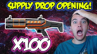 x100 SUPPLY DROPS - CEL-3 / AK-47 / M16 GAMEPLAY & OPENING! Call of Duty Advanced Warfare!