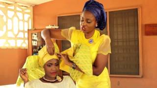 getlinkyoutube.com-The Beadefined Creations Vlog: Proper Gele Tying