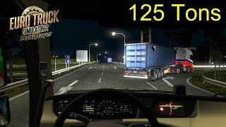 getlinkyoutube.com-Multiplayer Euro Truck Simulator 2 | 125 Toneladas Ruta de la Muerte a Zurich