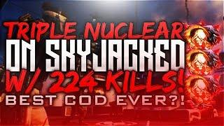 "getlinkyoutube.com-Black Ops 3 - ""TRIPLE NUCLEAR"" on ""SKYJACKED"" w/ 227 KILLS! BEST COD EVER?! (BO3 DLC 200+ KILLS!)"