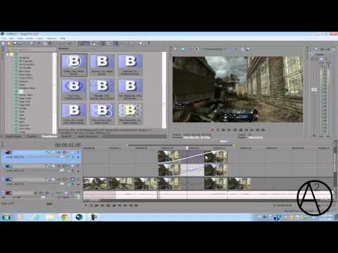 Sony Vegas Pro 11: Radar Effect Tutorial