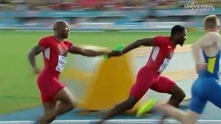 getlinkyoutube.com-USA fails to make 4x100m Final in World Relays - Universal Sports