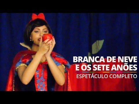 Branca de Neve e os Sete Anões (Espetáculo Completo) @ Barra World Shopping